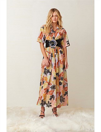 BARRIER REEF MIDI DRESS