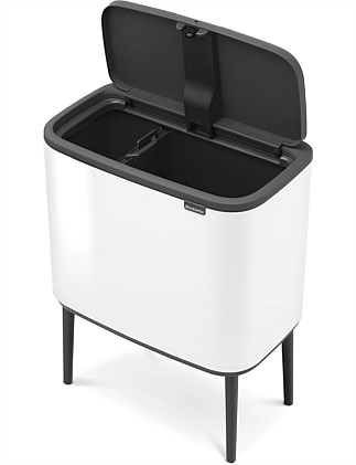 Brabantia Touch Bin 30 Liter Mat.Cleaning Equipment Indoor Bins Bins Online David Jones