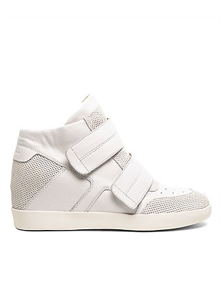 ALAYZE WHITE SUEDE LEATHER