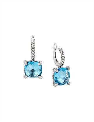 11MM CHATELAINE DROP EARRING BT DI SIL