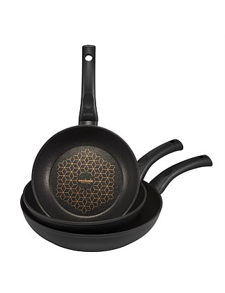 Per Salute 20/24/28cm Open French Skillet Triple Pack