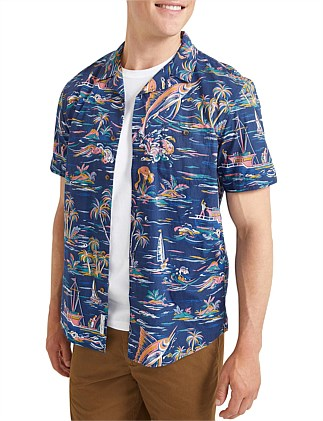 Argo Short Sleeve Print Shirt
