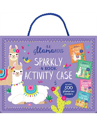 Gllamarous Sparkly Activity Case