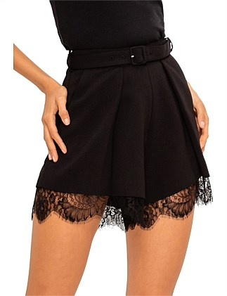 Crepe Pleat Shorts