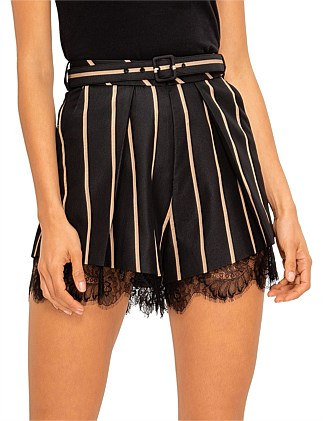 Tailoring Stripe Shorts