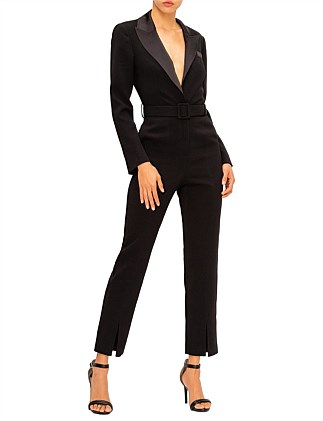 Tailored Crepe Jumpsuit