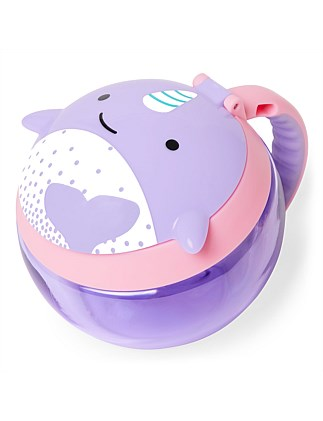 Skip Hop Zoo Snack Cup Narwhal