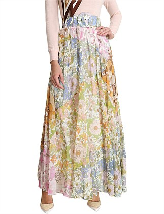 Super Eight Maxi Skirt