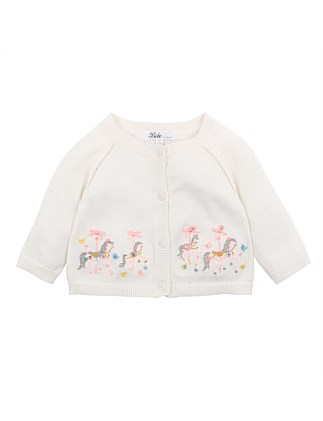 Iris Embroidered Cardigan (3M-2Y)