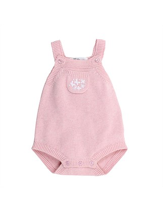 Leah Emb Knit Bodysuit (NB-9M)