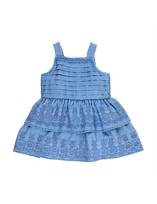 Leah Chambray Dress (3M-2Y)