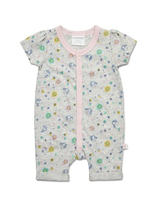 Short Sleeve Romper (NB-1Y)