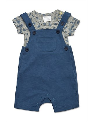 2pc Set - Short All & T-Shirt (NB-1Y)