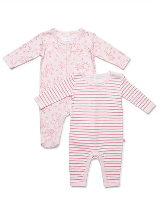 2 pack Combo Studsuits (NB-9M)