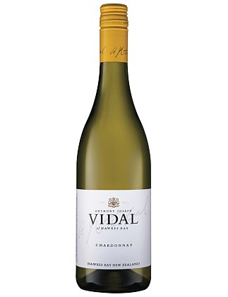 VIDAL ESTATE HAWKES BAY CHARDONNAY 750ML