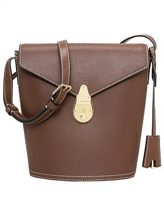 LOCK SMALL BUCKET BAG