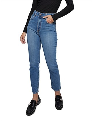 Frankie Super High Rise Slim Ankle Jeans