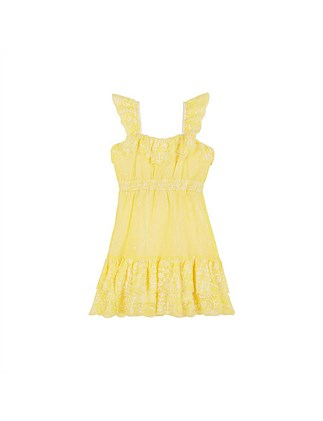 Rosie Embroidered Dress (Girls 3-7)