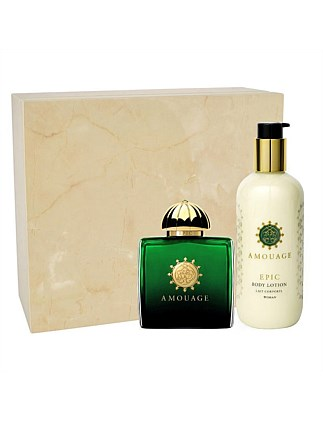 X19 Amouage Epic Woman Gift Set