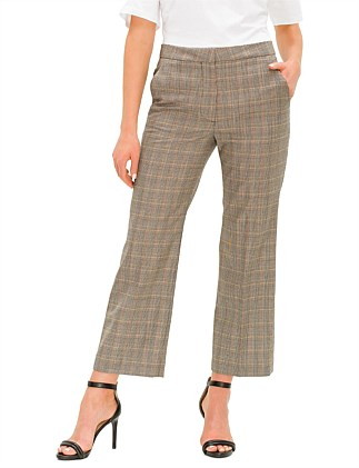 PRINCE OF WALES CROPPED TROUSERS