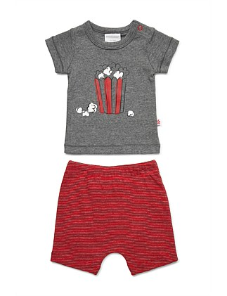 T-shirt and short set (NB-1Y)