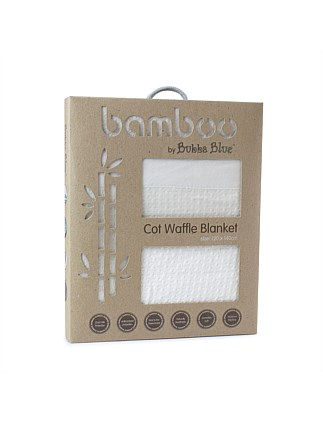 Bamboo Cot Waffle Blanket