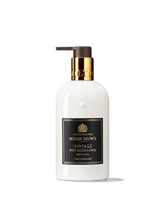 Vintage With Elderflower Body Lotion 300ml