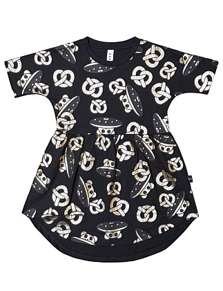 Ufo Pretzel Swirl Dress (1-3 Years)
