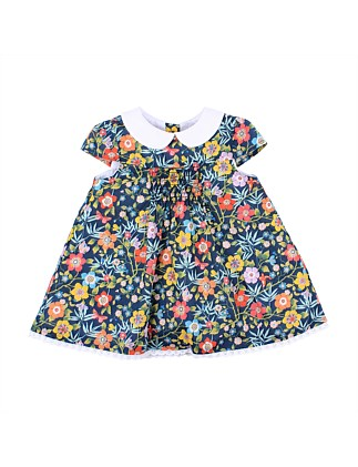 Liberty Collar Dress (3-24 Months)