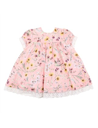 Liberty Short Sleeve Dress (3-24 Months)