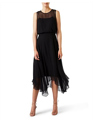 CARMEN SILK DRESS
