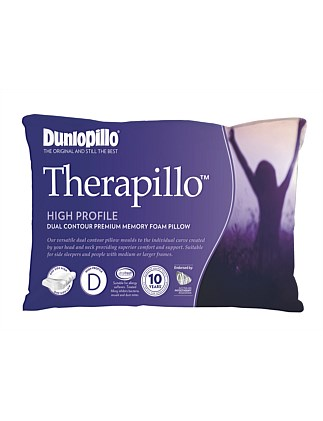 Therapillo High Contour Memory Foam Pillow