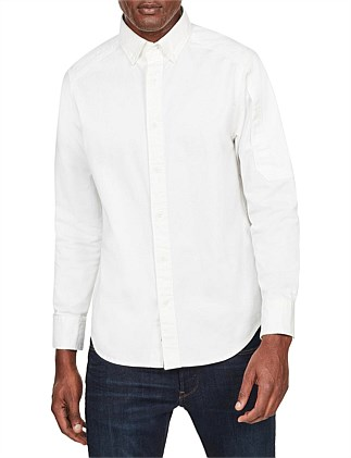 Stalt bttn down pkt straight shirt l\s