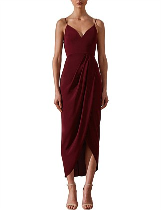 Cocktail Draped Dress