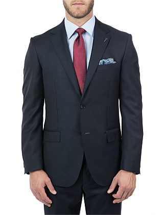 WOOL FULL CANVAS SUIT JACKET