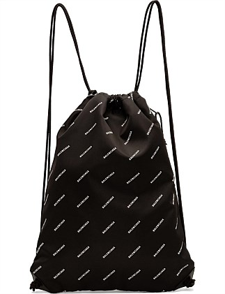 EXPLORER DRAWSTRING BAG (monogram logo)