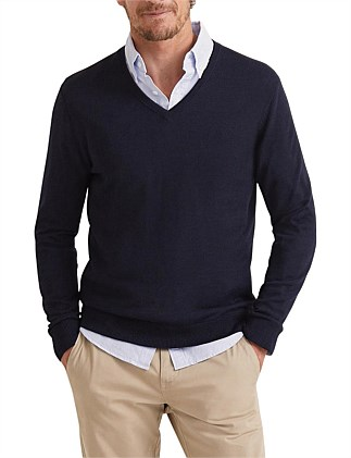 Merino V-Neck Knit