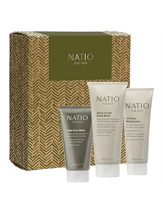 X19 ELEMENT Natio for Men 3 piece boxed Gift Set