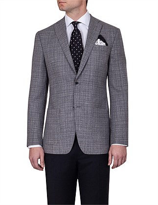 Brice Sport Coat - Grey Melange