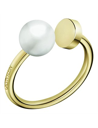 CALVIN KLEIN bubbly ring