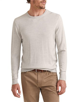 Merino Crew Neck Knit