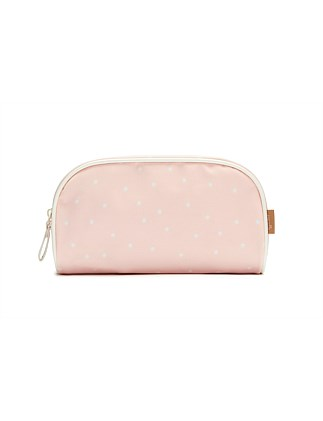 Pink Spot Small Cosmetic Bag