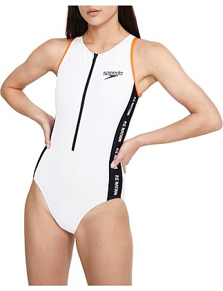 TETRA ONE PIECE ZIP FRONT