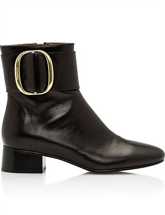 See By Chloe Womens Jarvis Boots 35 Nero