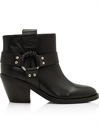 See By Chloe Womens Western Boots 60 Nero