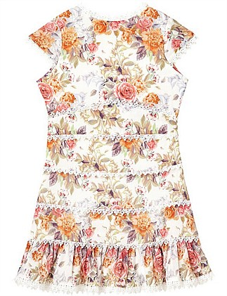 Sweet Mischa Floral Dress (Girls 3-7)