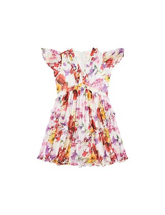 Christmas Petal floral Dress (Girls 8-16)