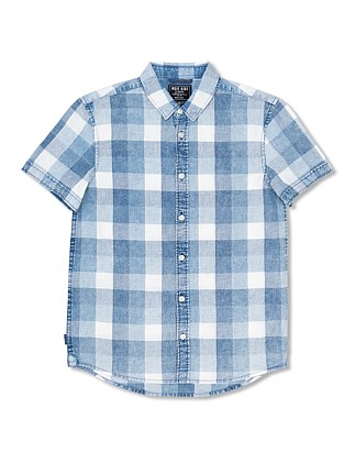 Wirral Check SS Shirt (Boys 8-14)