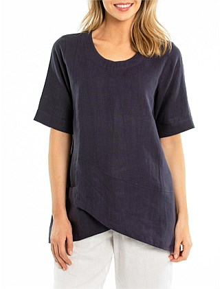 ELBOW SPLICED SHIRT
