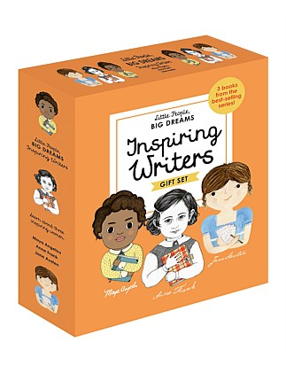 Inspiring Writers - A Little People, Big Dreams Box Set